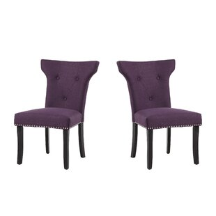 Roseta Upholstered Dining Chair (Set of 2) Willa Arlo Interiors
