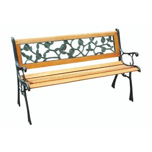 Zhane Wooden Bench By Sol 72 Outdoor