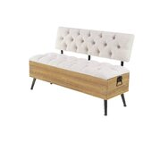 Sibo Traditional Tufted Upholstered Storage Bench by 17 Stories