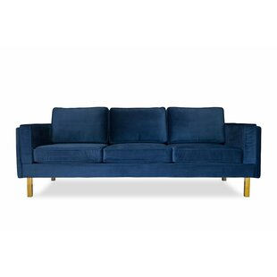 Claybrooks Mid-Century Modern Standard Sofa by Everly Quinn Bargain