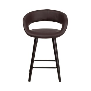 Savings Brynn 24'' Bar Stool by Offex Reviews (2019) & Buyer's Guide