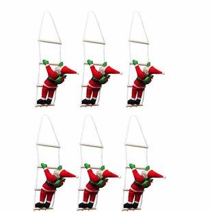 Santa Climbing Ladder Inflatable Set By The Seasonal Aisle