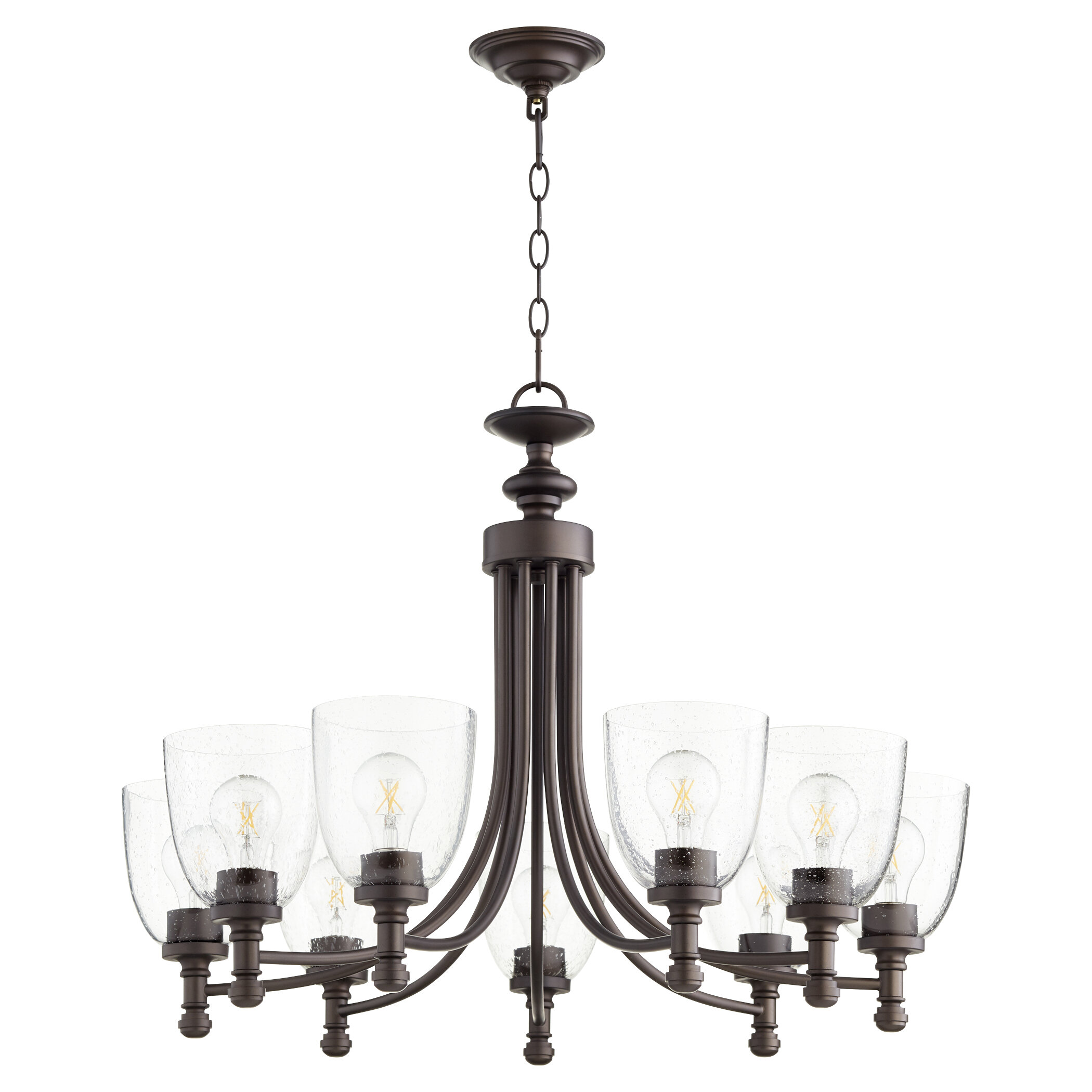 Large 27 34 Wide Shaded Chandeliers You Ll Love In 2021 Wayfair