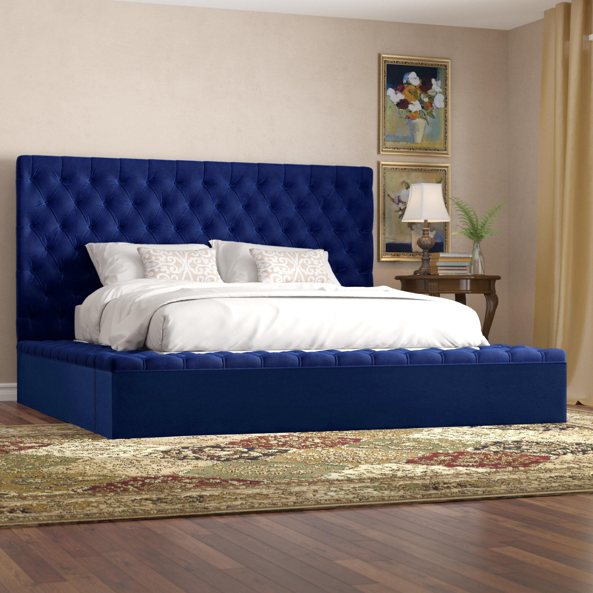 Willa Arlo Interiors Geralyn Upholstered Storage Platform Bed Reviews Wayfair