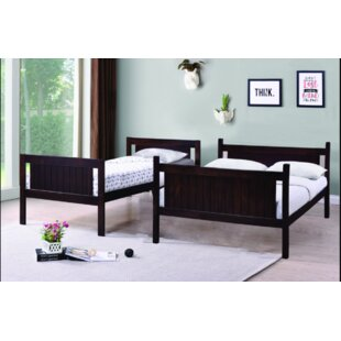 Best Quality Furniture Twin Over Full Bunk Bed