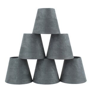 Buying 5 Suede Empire Candelabra Shade (Set of 6) By Ebern Designs