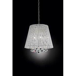 OK Lighting Daydream Crystal 3-Light Pendant