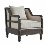 Amare Linen Armchair by Charlton Home®