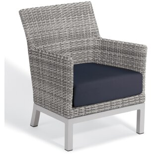 Brayden Studio Saleem Club Patio Chair wi..