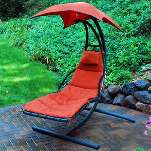Latitude Run Emilia 9 Hanging Chaise Lounger with Stand