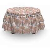 Fall Nature Woodland Ottoman Slipcover (Set of 2) by East Urban Home