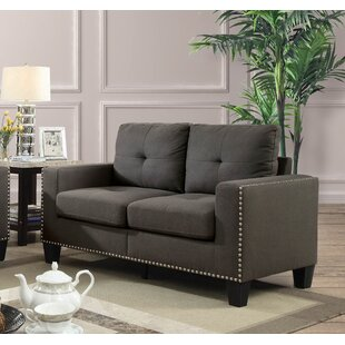 Best Price Dilbeck Loveseat by Ebern Designs Reviews (2019) & Buyer's Guide