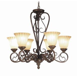 Woodbridge Lighting Avondale 6-Light Shaded Chandelier