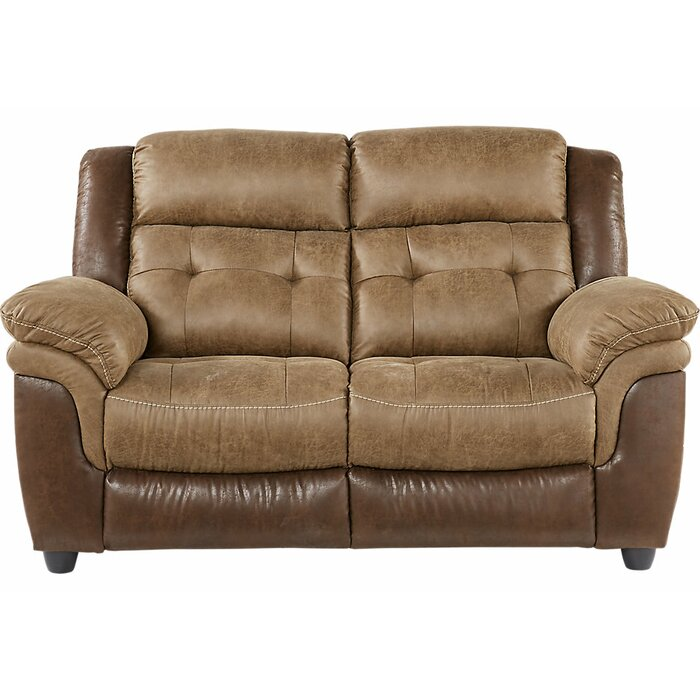 Miraculous Heider Reclining Loveseat Pabps2019 Chair Design Images Pabps2019Com