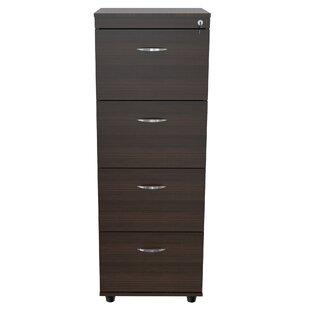 Aleksei 4-Drawer Vertical Filing Cabinet