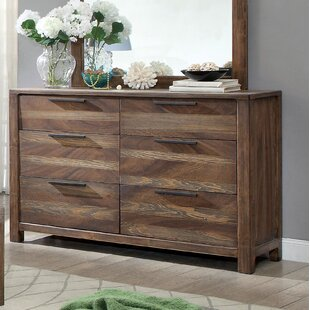 Gracie Oaks Alyssia 6 Drawer Double Dresser