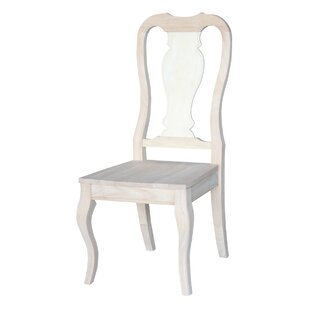 One Allium Way Willimbury Solid Wood Dining Chair (Set of 2)