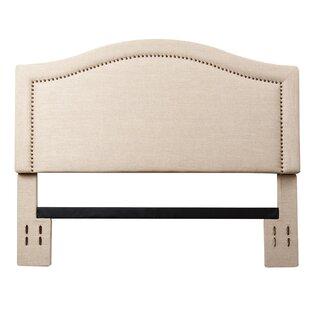 Three Posts Pine Plains Upholstered Panel Headboard