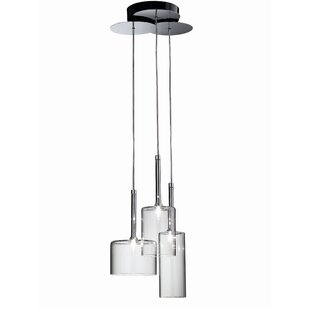 Ponca 3-Light Pendant by Brayden Studio
