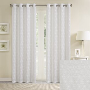 Gemma Eyelet Sheer Curtains Set Of 2