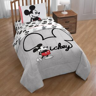 Mickey Mouse Jersey Sheet Set