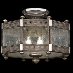 Villa Vista 3-Light Semi-Flush Mount by Fine Art Lamps