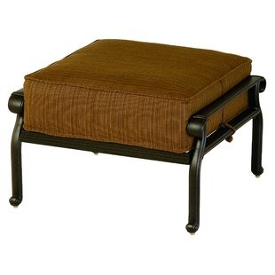 Merlyn Ottoman with Cushion by Fleur De Lis Living