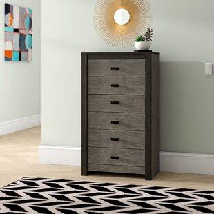 Salerna 6 Drawer Sideboard