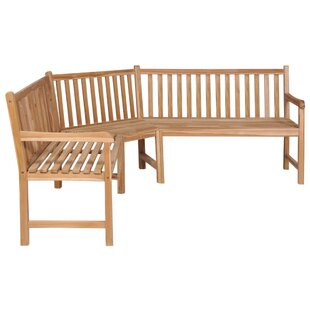 Check Price Verlin Teak Bench