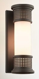 Remus 1-Light Outdoor Sconce by 17 Stories