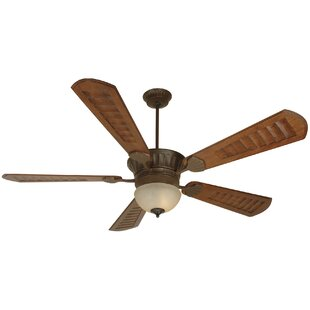 Compare & Buy 70 Chateaugay 5-Blade Ceiling Fan By Fleur De Lis Living