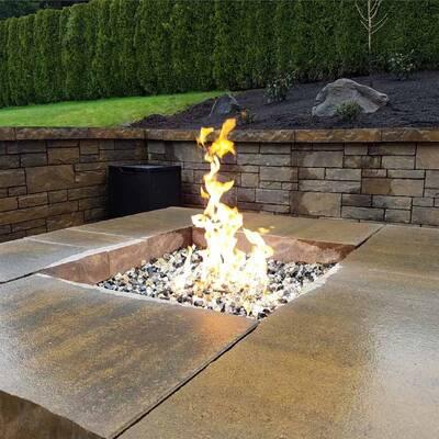 Lava Rock Blends Fire Pit Glass - Fire Pit Essentials Fire Rock Fire Pit Glass Wayfair