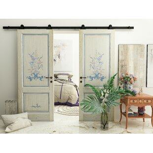 Double Door American Design Barn Door Hardware
