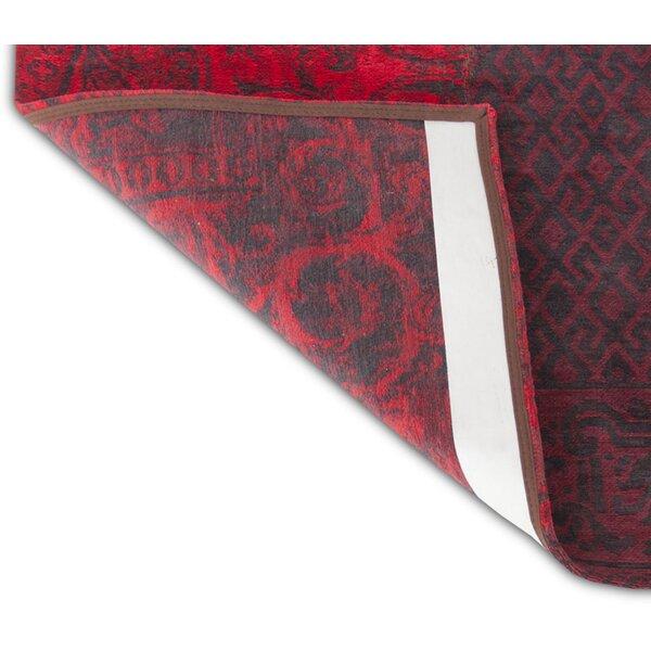 Louis De Poortere Teppich Vintage In Rot Wayfair De
