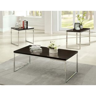 Howie Retro 3 Piece Coffee Table Set by Hokku Designs