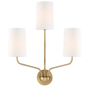 Needham 3-Light Armed Sconce By George Oliver Wall Lights