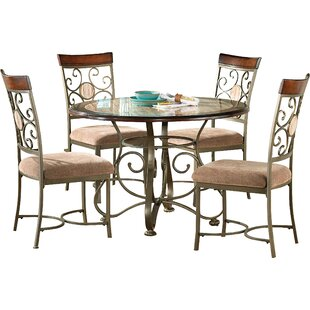 World Menagerie Nenuphar 5 Piece Dining Set