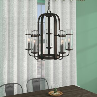 Poteau 5-Light Shaded Chandelier by Trent Austin Design