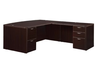 Flexsteel Contract Fairplex Drawer L-Shape Executive Desk