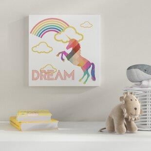 Kids Unicorn Wall Art Wayfair