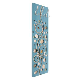 Beach Finds Wall Mounted Coat Rack By Symple Stuff