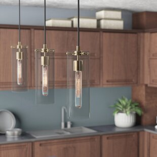 Mercury Row Backus 1-Light Cylinder Pendant