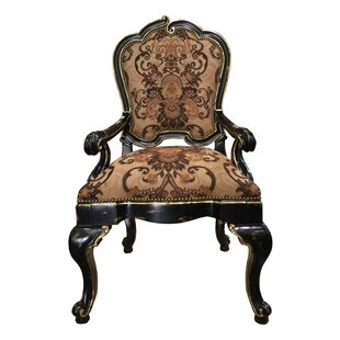 Eastern Legends French Quarter Upholstered Dining Arm Chair (Set of 2)
