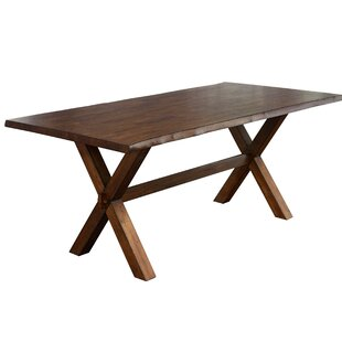 Tiggs Solid Wood Dining Table by Millwood Pines Coupon