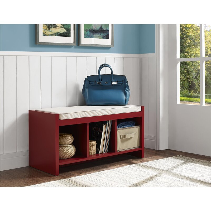 Merveilleux Claudia Storage Bench With Cushion