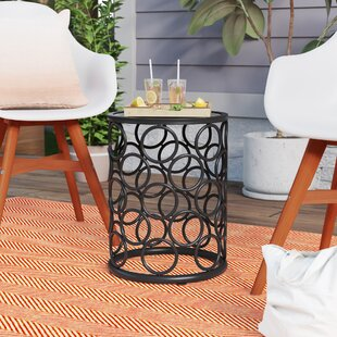 Melcher Iron Side Table