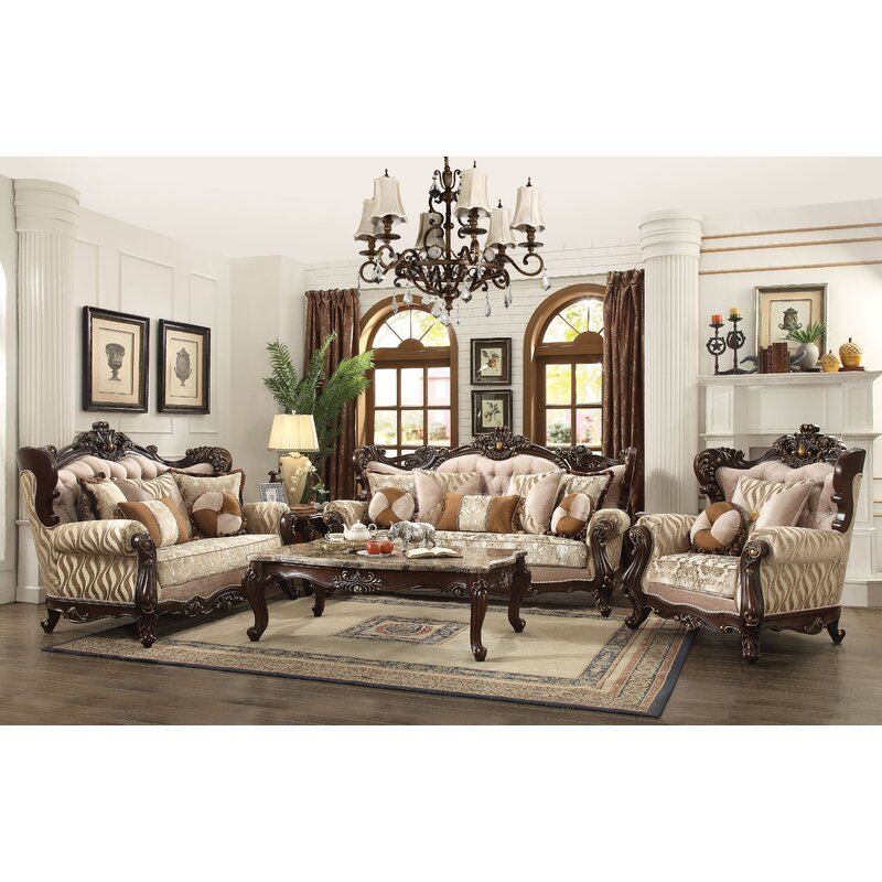 Astoria Grand Camren Configurable Living Room Set | Wayfair