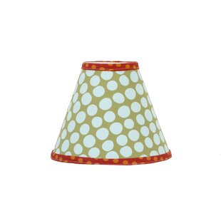 Lagoon 9 Plastic Styrene Covered In fabric Empire Lamp Shade