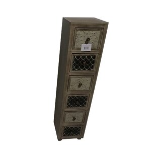 Lori Wooden 6 Drawer Accent Chest by Gracie Oaks