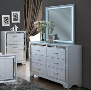 Goebel 6 Drawer Double Dresser
